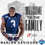 Image for the Tweet beginning: Welcome to the family @marlondavidson7!!!