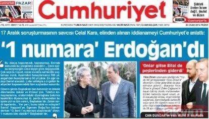 """medya adamı 🇹🇷 🇵🇸 on Twitter: """"Cumhuriyet Gazetesinin FETÖ iltisakı ve  17-25 Aralık FETÖ yargı darbesi, MİT tırları kumpası ve sonrasında attığı  manşetler ile yaptığı haberlerin bazılarına bir bakalım. #YalanCumhuriyeti"""""""