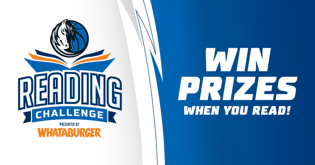 The @whataburger Reading Challenge is back and encouraging the love of reading for all kids of all ages!📚  Join the 18-week program designed to improve reading literacy throughout Dallas-Fort Worth 👉 http://on.mavs.com/trk/GJ