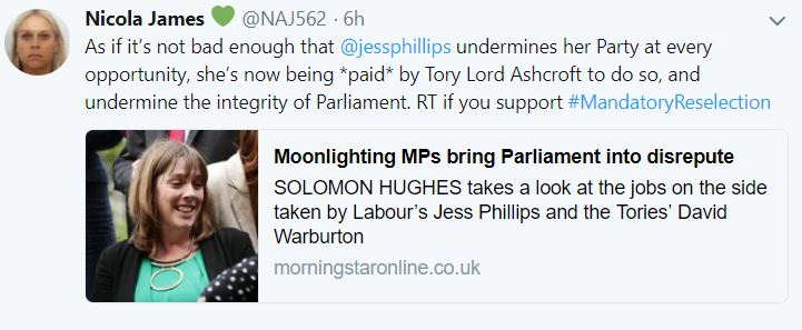#BBCPolitics #Sky #itvnews & #channel4news allowed Jess Phillips 2make comments that were not questioned: No one asked her which of Corbyn's Policies she did not support; no one asked here2 explain or justify her comments#Football against poor/biased #journalism @Channel4News