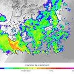 Image for the Tweet beginning: Dimarts de pluja freqüent i