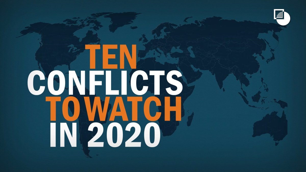 🎥 From #Afghanistan to #Yemen, here are the 10 conflicts @CrisisGroup will be watching most closely this year.