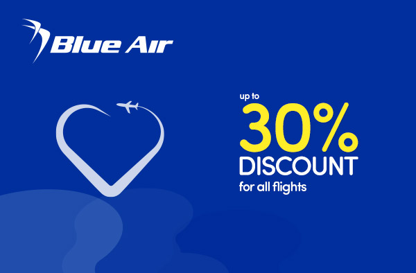 Following on from Blue Monday we have a super sale from @blueair today with up to 30% off all flights!  Visit  today to discover your next adventure. #BlueAir #flashsale #flyGLA