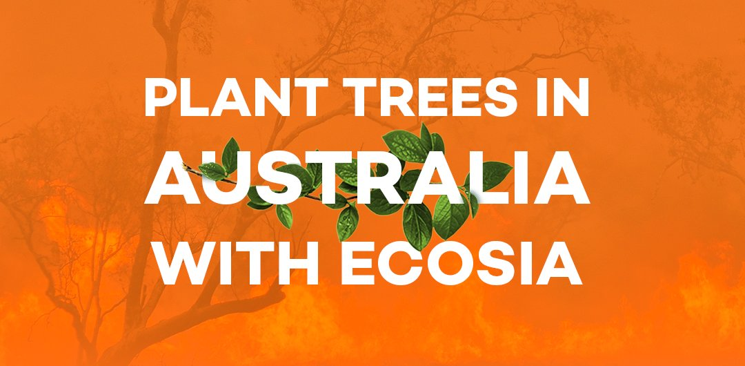 Want to help Australia after the fires? Use the Ecosia search engine on Thursday!  / thread <br>http://pic.twitter.com/MFYPNjLE6a