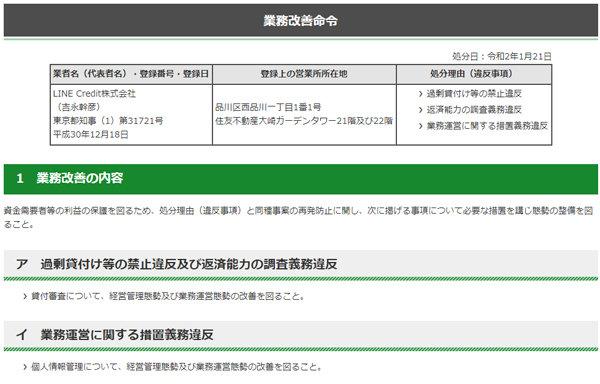 東京都、LINE Creditに業務改善命令 年収の3分の1を超える貸し付け、個人情報漏えいなど問題視