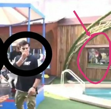 See the mirror.  Mirrors don't lie.  Asim is in the Air .. He is About to FELL .. Parasite Shocked by Seeing Asim Fell..  We finally caught you @BiggBoss, SHAME ON @mnysha @EndemolShineIND @ColorsTV   #HeroicsAsim #EvictBhalu #KickOutSidharth <br>http://pic.twitter.com/YvY1cwsx4I