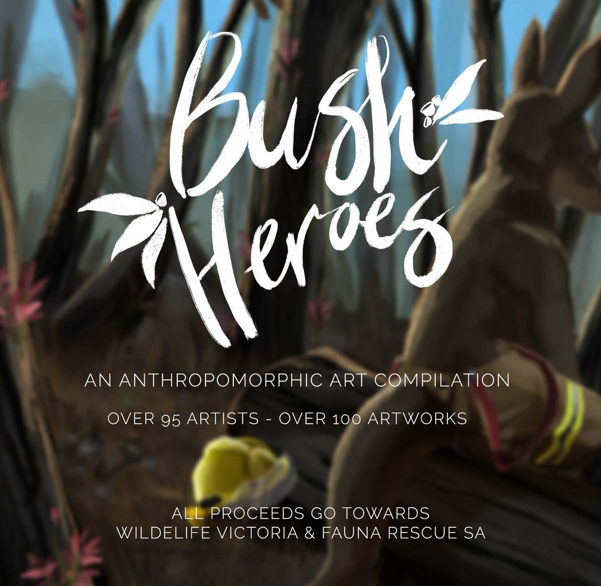 BUSH HEROES ZINE   An art book featuring art from over 95 artists within the furry fandom in honour of the brave fire fighters helping Australia.  All proceeds to be donated to charity to help with the recovery of our furry friends. Follow for updates <br>http://pic.twitter.com/QxeCwHi2PD