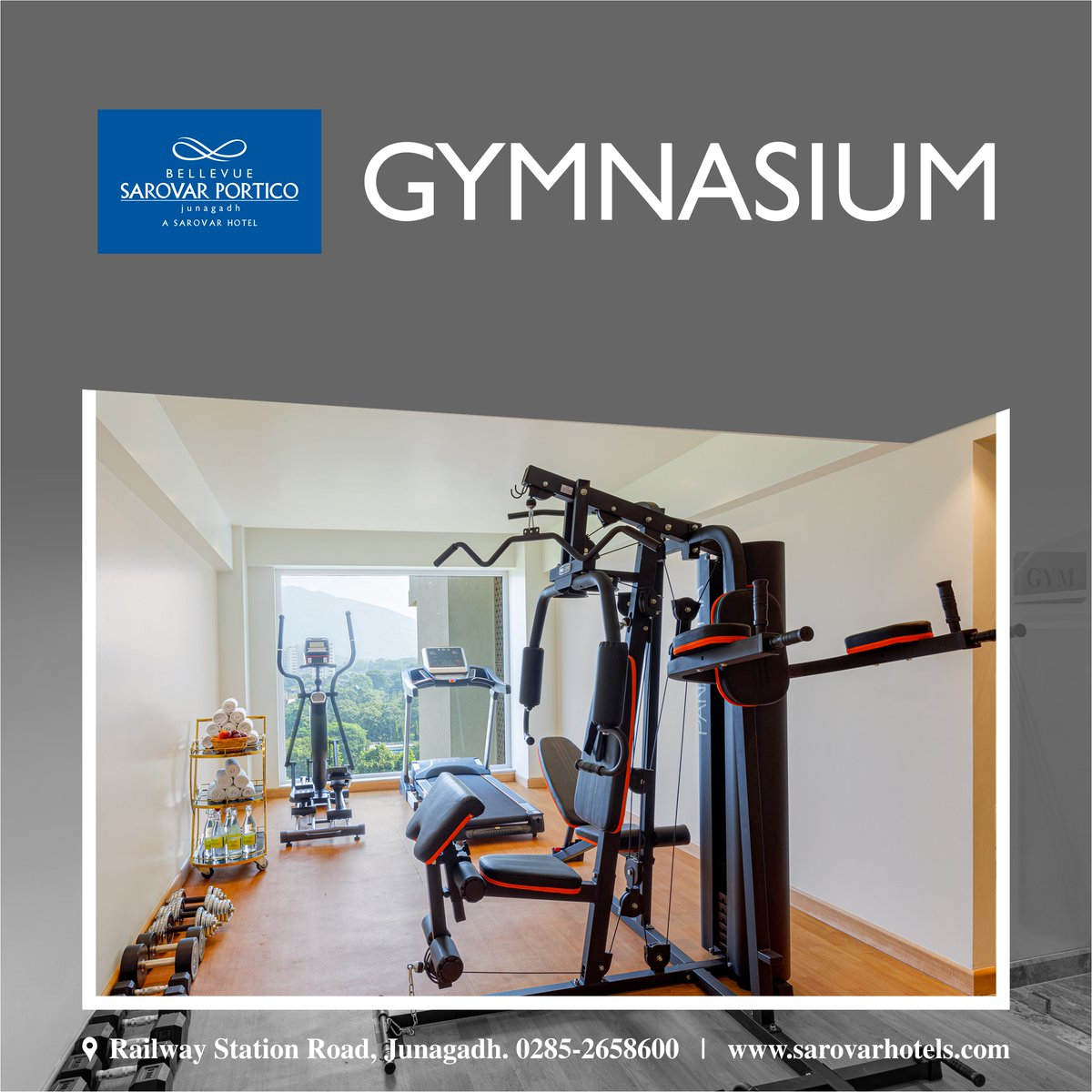 Today, the quality of a hotel gym is becoming increasingly important to travelers, and the hospitality industry has responded by building better fitness centers for guests. Our gym is equipped with a complete range of Life Fitness weight training and exercise equipment. <br>http://pic.twitter.com/rUjy27P6rB