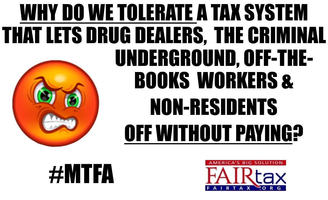 #FAIRtax is #TaxReform that makes tax payers out of criminals and not criminals out of taxpayers like income taxation does. #AbolishesTheIRS.<br>http://pic.twitter.com/KRctgemkkd