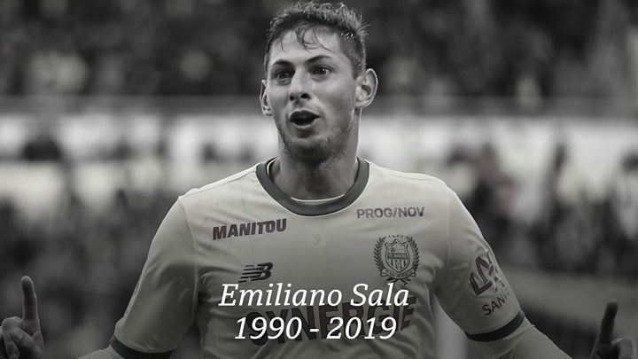 A Year Ago Today  Argentinian forward, Emiliano Sala died on January 21, 2019 when the plane carrying him from Nantes in France to his new club Cardiff crashed in the English Channel near Guernsey. #3Sports<br>http://pic.twitter.com/pnz69DftGB