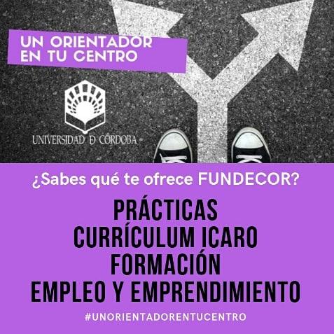 Agenda de la semana para #UnOrientadorentuCentro:  ¡Recuerda! Solicita cita previa > http://bit.ly/fundecor-orienta…   Martes 21 enero > @DerechoyADE   Miércoles 22 enero > @UCOLetras   Jueves 23 enero > @CDTuco   #FundecorUCO #fórmate #empléate #hazprácticaspic.twitter.com/LSjEavFjpZ