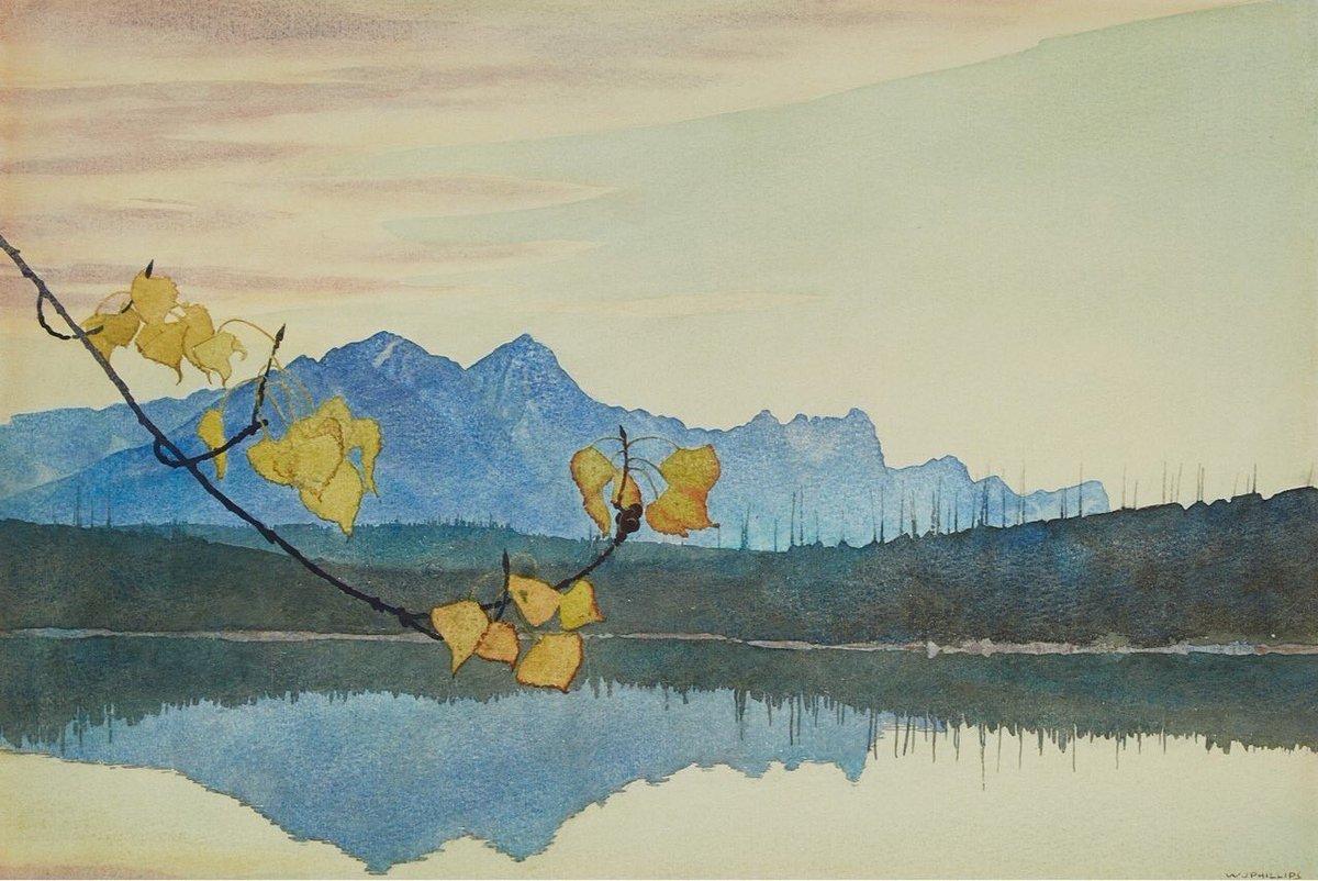 Leaf of gold  Walter Joseph Phillips <br>http://pic.twitter.com/Wp8ekFlC22