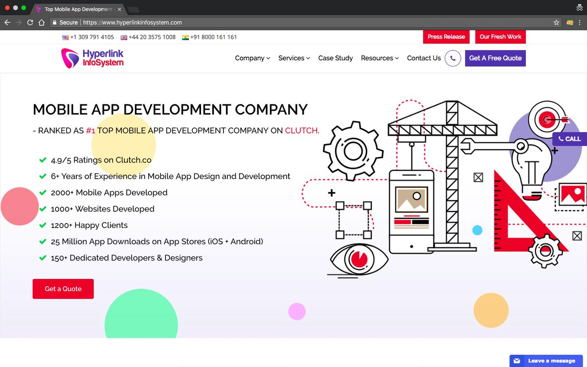 Top 10 #Mobile  #App  #Development  #Companies  In #India  5. @hyperlinkinfo   Set up in 2011, they have #quickly  made their #name  in the #domain  of #mobile  app #development  Any #application  is fully #tested  before #handing  it over to the #client .  #Readmore -  https://engineerbabu.com/blog/top-ten-mobile-app-development-companies-india-2  …