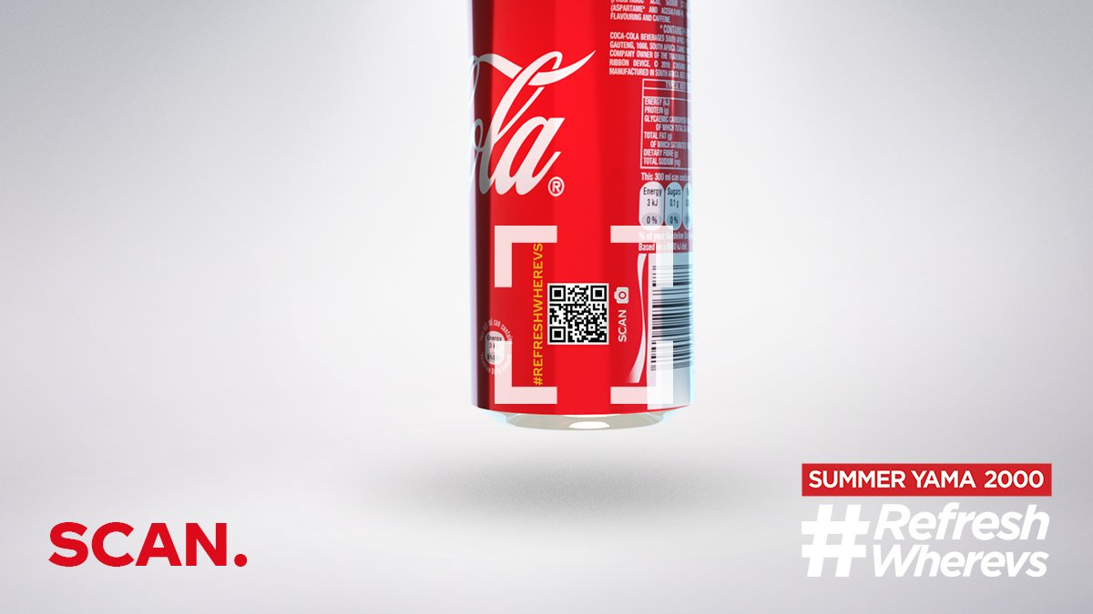 @__Lebogang Ska wara ka FOMO. Get any Coke® can, scan the back and unlock another level of summer fun.  #RefreshWherevs #SummerYama2000 #Yama2000 #Holidays #Summer
