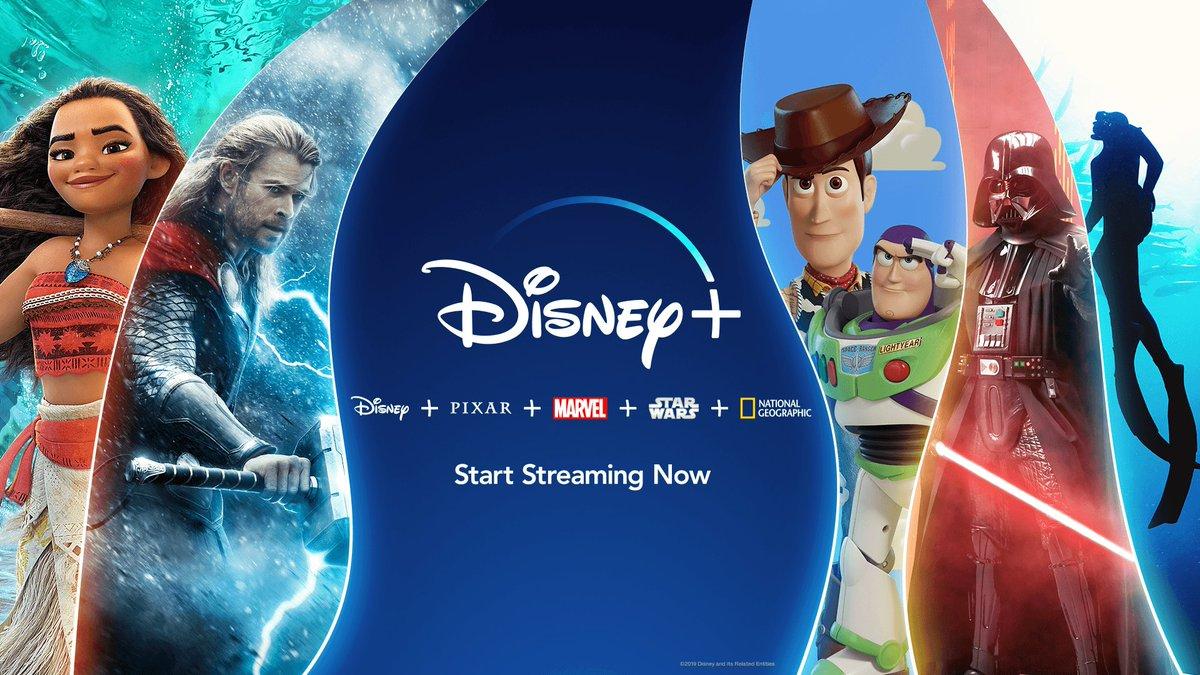 #DisneyPlus