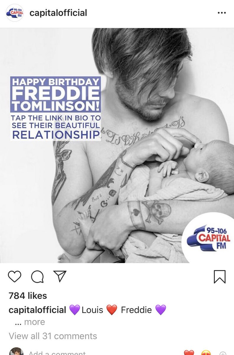 The way they didn't include Louis in their new music friday post but did this...lol fuck capital <br>http://pic.twitter.com/P59yCd3QqA