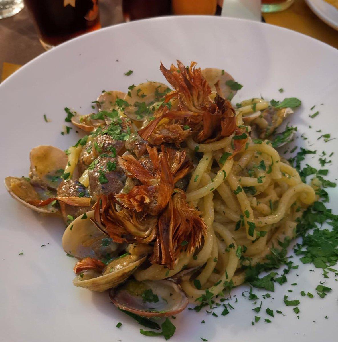 Vongole e carciofi ❤😋😋 #foodporn #pranzo buon appetito