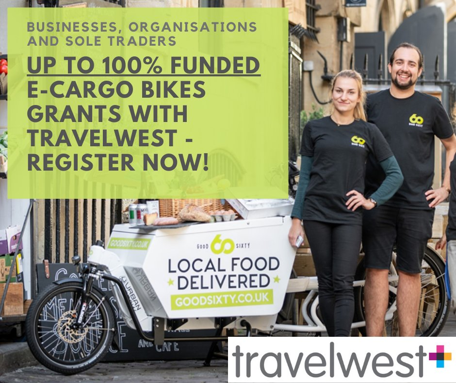 test Twitter Media - Got a business or sole trader that could do with an eCargo bike for deliveries or getting around? DfT funding may be available. Deadline Wed 27 Jan.  To register and more info: https://t.co/XxaGMhvkFp #betterbybike https://t.co/Vn5oly3zjz