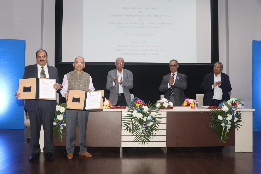 Forensic Science Laboratory, Haryana signed MoU with GFSU | 21st Jan 2020 #MoU #FSL #Haryana #GFSU