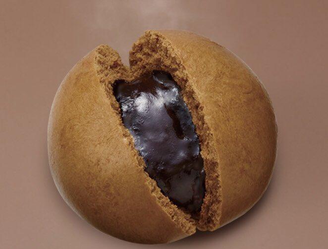 セブンイレブンから、スイーツ系中華まん「濃厚チョコ フォンダンショコラまん」と「ちょっぴりビターハートの生チョコまん」が新発売されました✨