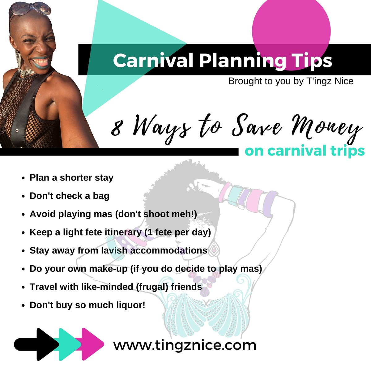 You can still have a lovely carnival trip if you take it down a notch. Be responsible in your carnival adventures...ain't no fun having the time of your life while traveling, only to get back to reality and realize you're unable to make ends meet. ⠀ #TingzNice #CarnivalTwitter<br>http://pic.twitter.com/4VfVngu8Ed