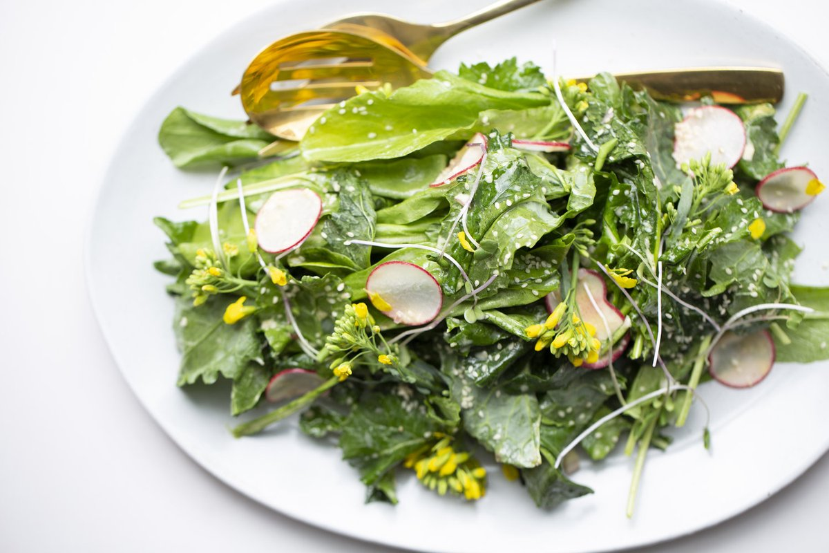 Bitter Greens and Herbs  Strong-flavored greens make great salads, and there's a long tradition of using bitter greens, herbs, and flowers as accompaniments to blander foods.  #delicious #dinner #food #foodie #foodporn #glutenfree #health #healthy #he