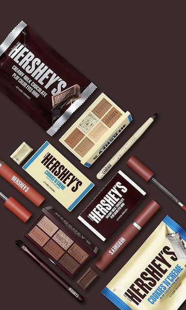 【可愛い】「チョコ」イメージのコスメ、エチュードハウスに登場バレンタイン向け商品としてチョコブランド「HERSHEY'S」とコラボ。カカオの香り付きのリップなどが発売されます。