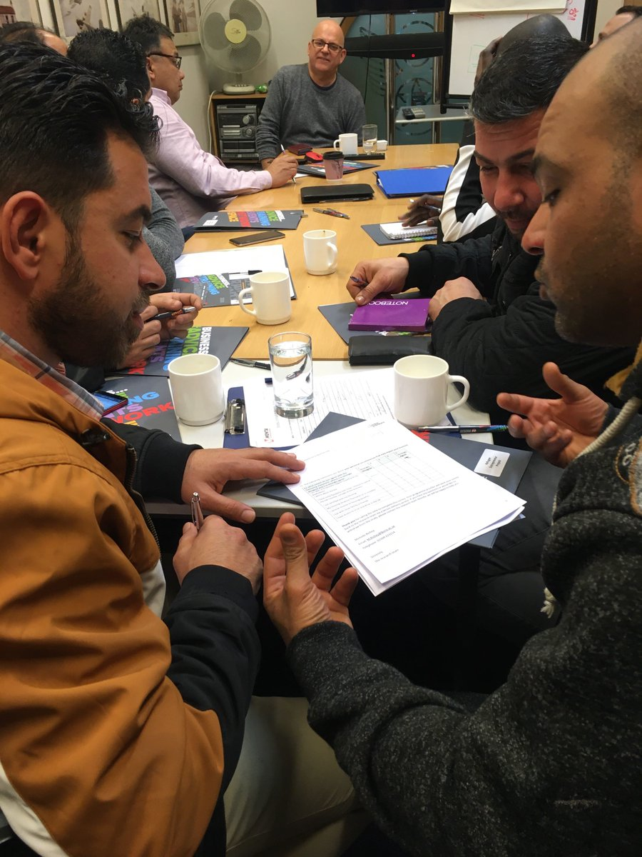 Excited to announce that the first courses are underway for the CFE Refugee Entrepreneurship Pilot Programmewith participants from Eritrea, Sudan, Iran, Sri Lanka and Syria.... @ACHintegrates @MENTABusiness @teamfoundry @StaffordChamber @TNLComFund @ukhomeofficepic.twitter.com/JcLjF0sXRl