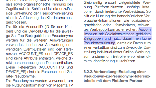 I wonder whether a code of conduct on pseudonymization shaped by industry players could lead to similar results in major areas of application.  Draft for a code of conduct, 2019, in German: https://www.de.digital/DIGITAL/Redaktion/DE/Digital-Gipfel/Download/2019/p9-code-of-conduct.pdf?__blob=publicationFile&v=2…  'White Paper on Pseudonymization', 2017: https://www.telekom.com/resource/blob/503396/a358f4551a46a542c1c918756996f771/dl-170912-white-paper-pseudonymisiation-data.pdf…pic.twitter.com/JRBA0pGWw2