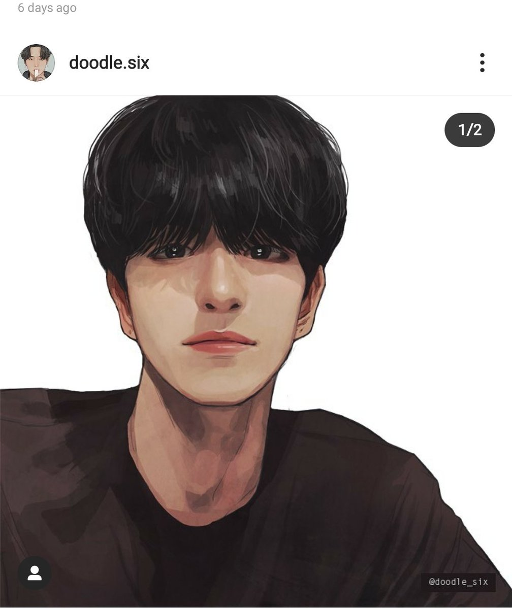 This looks so much like him, way better than I did when I tired to draw Wonpil and you captured his eyes so well. @doodle_sixpic.twitter.com/dVGkVGVc60