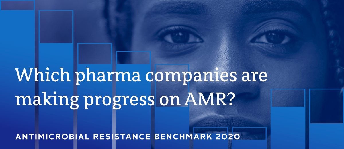The AMR Benchmark Report is an important assessment of efforts being made in our industry. It's good the Benchmark recognises our contribution, but more must be done through action from Governments and other stakeholders, as well as the private sector. https://t.co/CbWitN0bwu https://t.co/plpcJsHCAn