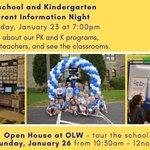 Image for the Tweet beginning: Looking for preschool or kindergarten?