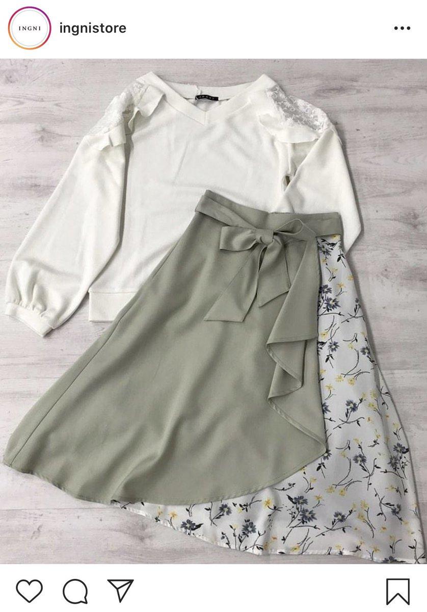 INGNIの新作スカートがすんごいすんごい可愛い…涙