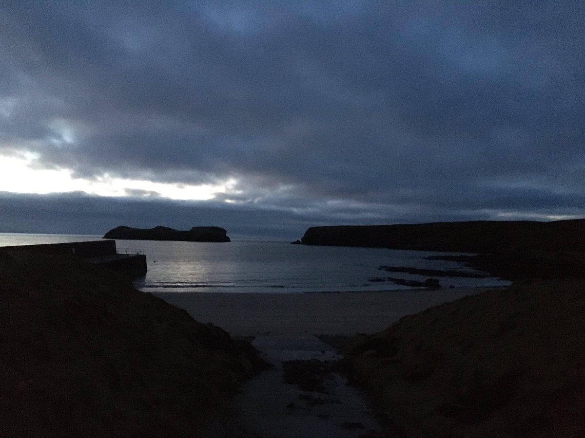 Early morning dip #Islandlife #seaswimming #facefears #Lewis #Scotland