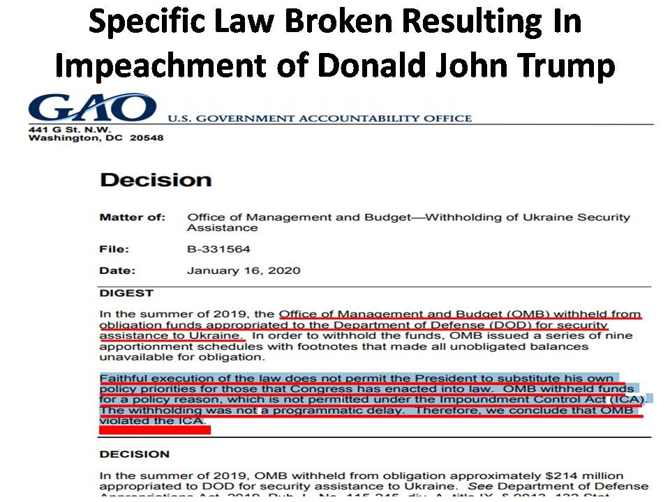 https://www.gao.gov/assets/710/703909.pdf… #CRIMINAL #GovOfPutin #TrumpCrimeSyndicate #ImpeachTrump #KhashoggiMurder #AbuseOfPower #AltRight #BarrCoverUp #BOTSnTROLLS #Bribery #ChosenOne #ConstitutionalCrisis #Crowdstrike #DevinNunesGotCaught #DonaldTrump #Emoluments #Epstein #EpsteinSuicideCoverUp https://twitter.com/Wearebettertha5/status/1219607802643128320…