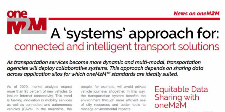 The latest @ETSI_STANDARDS Enjoy! features connected and autonomous mobility (CAM) innovation with @_oneTRANSPORT, @MidsFutureMob and @oneM2M