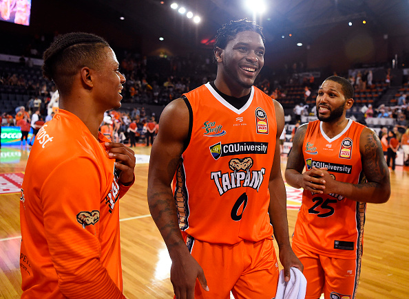 All three @CairnsTaipans imports scored 20-points vs the 36ers on Saturday night.  28 - DJ Newbill 24 - Cam Oliver 21 - Scott Machado  It was the first time any team had 3 imports score 20-pts each in same game since introduction of 3 imports at the start of 2017 season.  #NBL20pic.twitter.com/AvqFEnkI8E