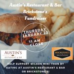 Image for the Tweet beginning: Join us at Austin's Restaurant