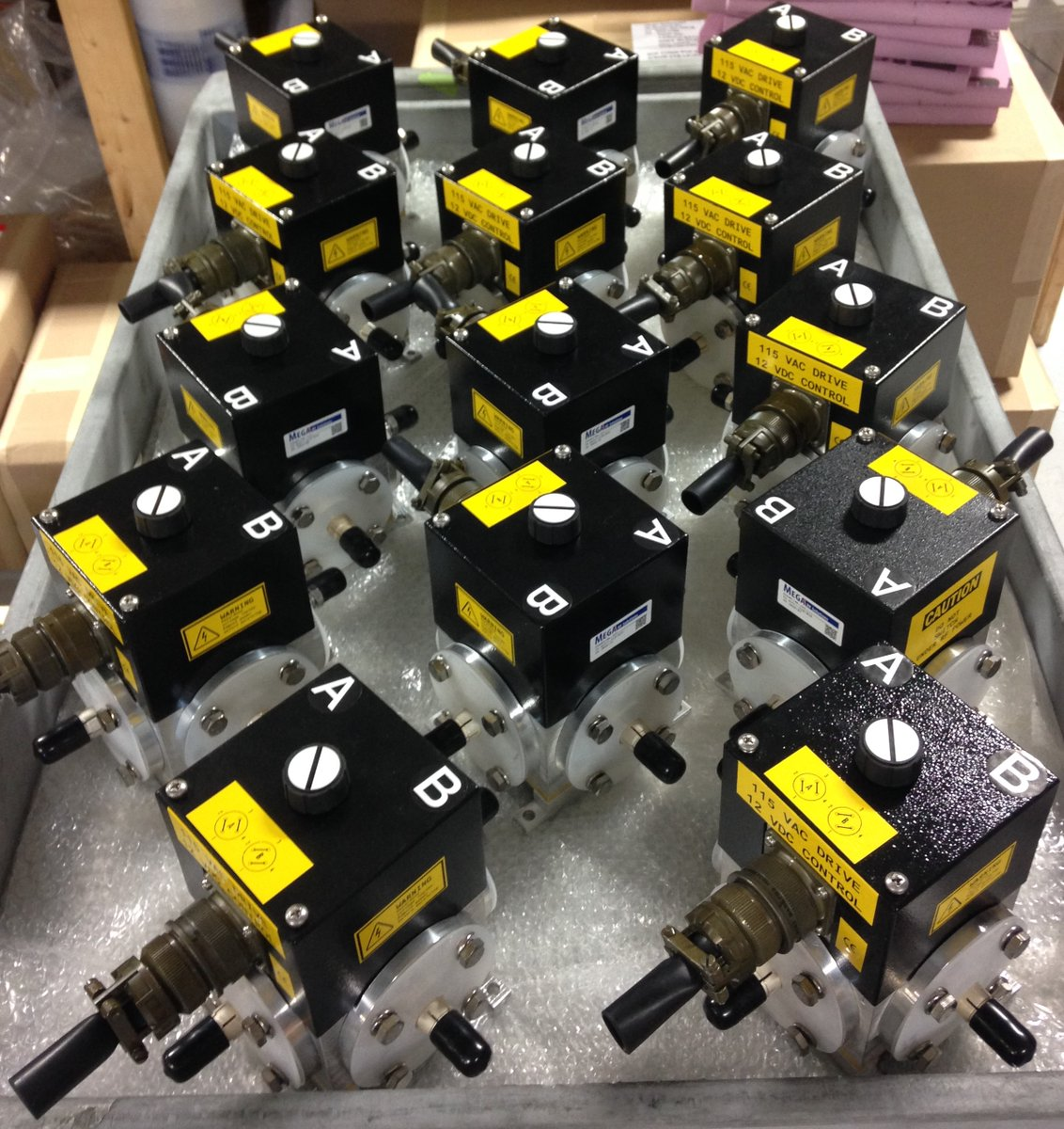 Coaxial Transfer Switches by Mega Industries
