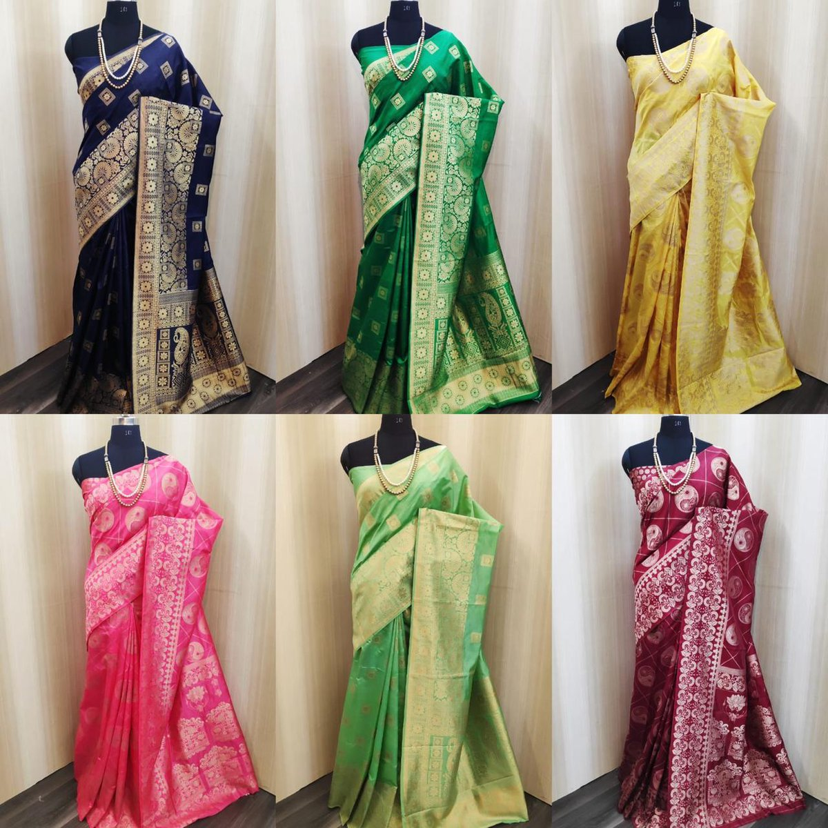 FG Silk Festive Wear Formal Collection Saree  !!  Single Piece Price: 1250/- INR (GST + Shipping)   Singles Available with us at wholesale Rate.  We deliver to worldwide. Also provide stitching Facility.  For any Inquiries contact us here:  http://api.whatsapp.com/send?phone=918460784608…  #designersaree pic.twitter.com/IfVCVnntzG
