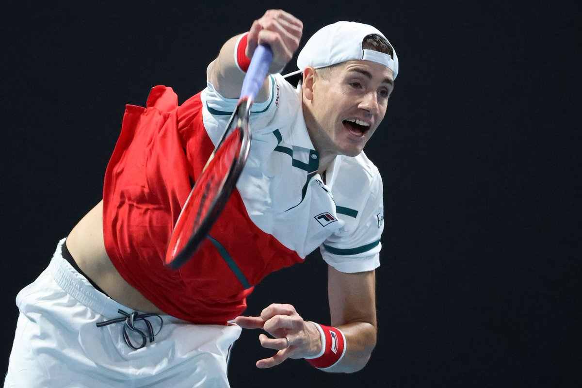 4️⃣6️⃣ aces 💰4️⃣6️⃣0️⃣0️⃣ for #Aces4BushfireRelief 👏   In a match with no breaks, 19th seed @JohnIsner def. Thiago Monteiro 6-7(5) 7-6(4) 7-6(7) 7-6(5).  #AO2020   #AusOpen