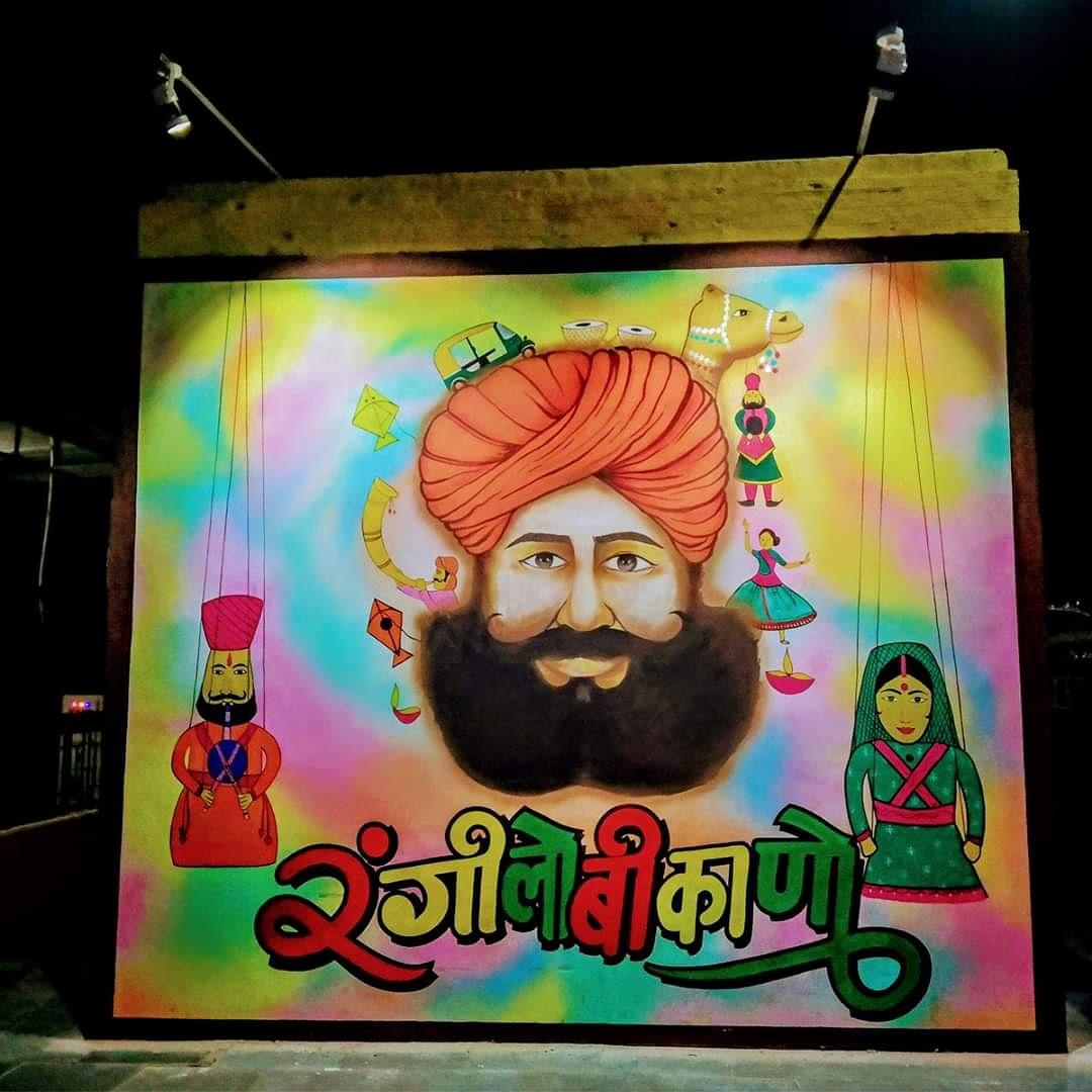 Have you seen it???  BIKANER RAILWAY STATION, Rajasthan @viraajdogra #bikanerrailwaystation #bikanerdiaries #bikaner #magicboxholiday pic.twitter.com/DE1za83BXk
