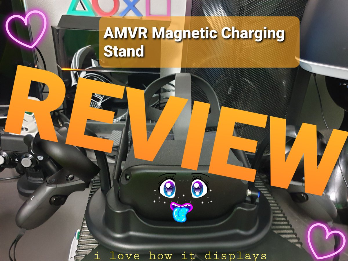 Hey folks it's your boy Taz heres my review I did with a slight Tazzy spin to it. It's for the AMVR Magnetic Charging Station  Many thanks to the folk at AMVR for sending this out to me  #OculusQuest #AMVR