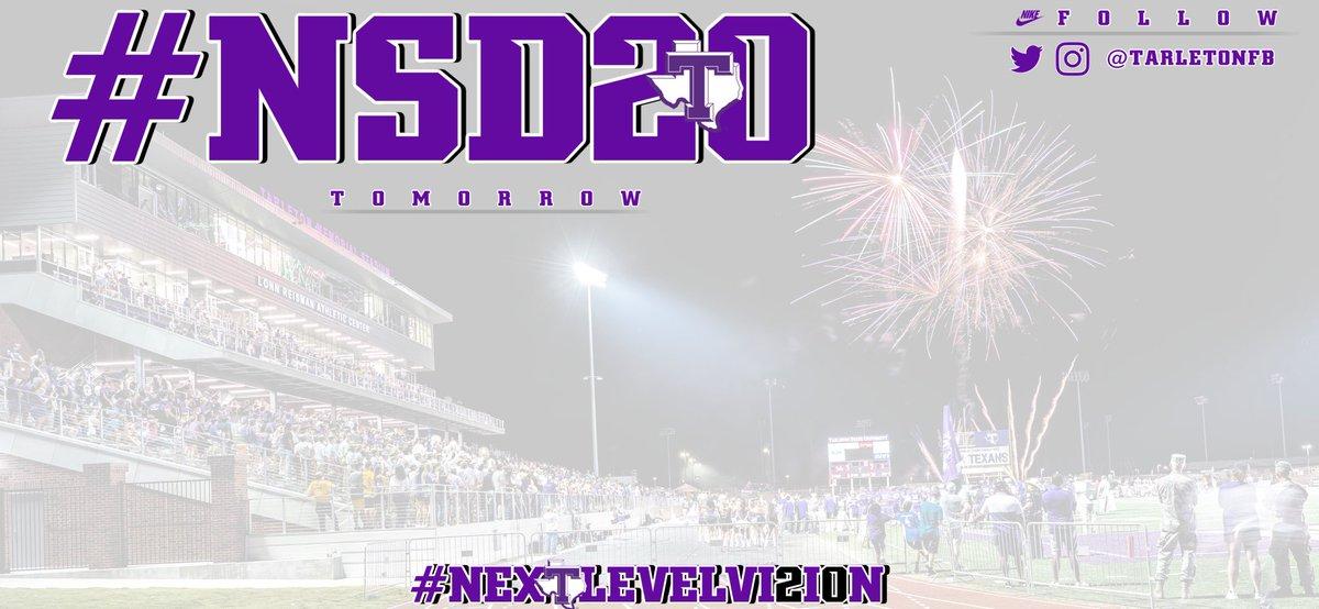 #NSD20 Less than 12 hours...⏳ #NEXTLEVELVI2I0N   #TexanNation