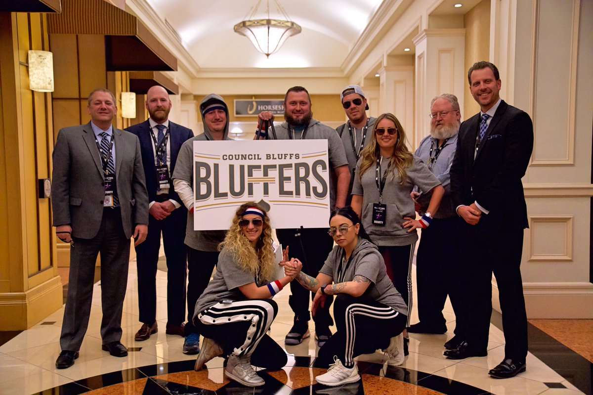 It's going to be a fun season. LET'S GO! 🔥 #CouncilBluffsBluffers