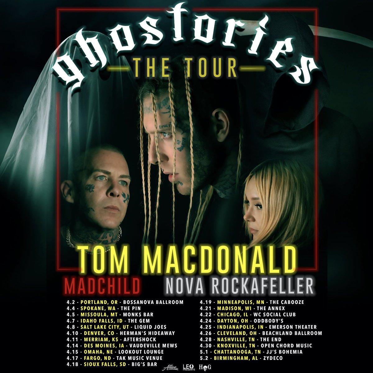 Macdonald tour 2020