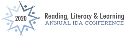 OMG I need more sleep. Here is the #DyslexiaCon20 logo!
