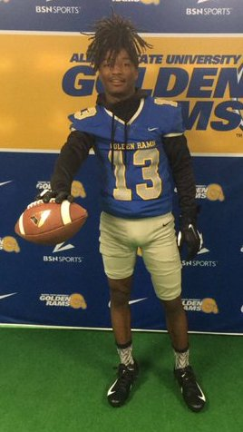 NEW COMMIT! 2020 WR/ATH @KingKeaton5 is COMMITTED @ASUGoldenRamsFB! #RamRising 🐏 #BanyBuilt20 https://t.co/DPA3zyvfNI https://t.co/7Mf1i5O4Pc