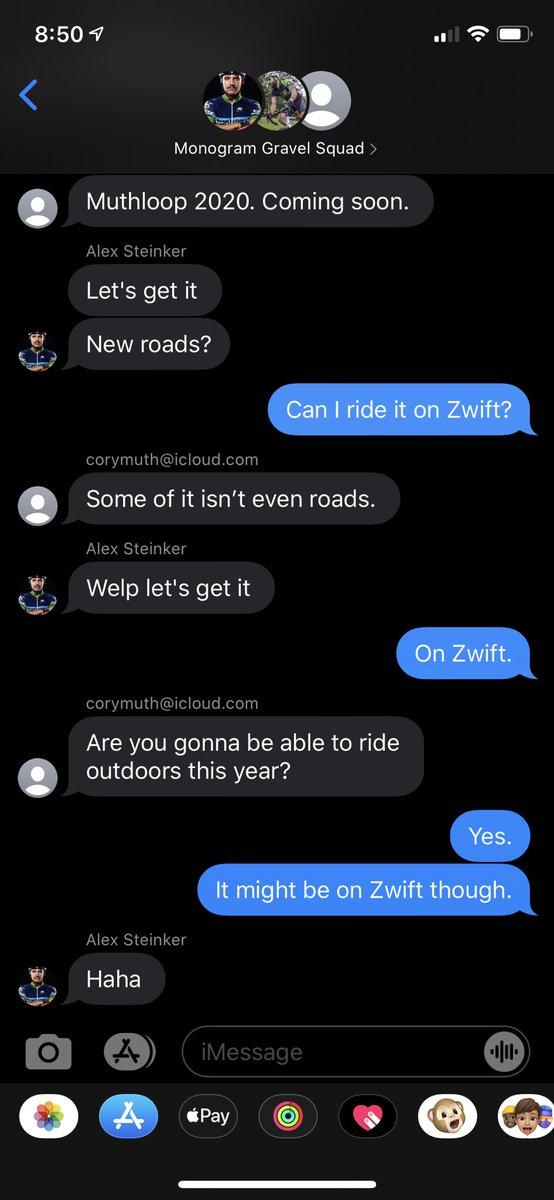 If it's not on #zwift it didn't happen. #newdadlife pic.twitter.com/TsV0tSWIzt