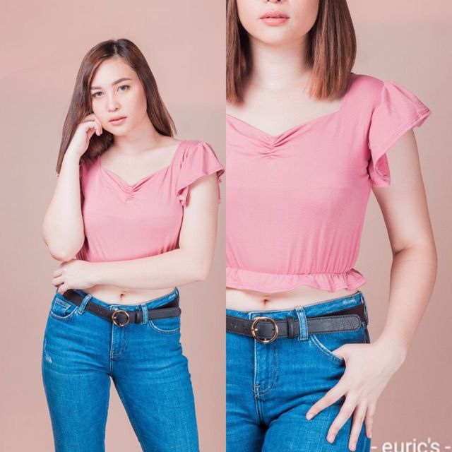 I'm selling Eurecka Sexy crop top squareneck top for ₱99. Get it on Shopee now! https://shopee.ph/crizelle19/6116310522… #ShopeePHpic.twitter.com/TQ10S5j06H